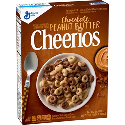 Chocolate Peanut Butter Cheerios Cereal, 11.3 oz