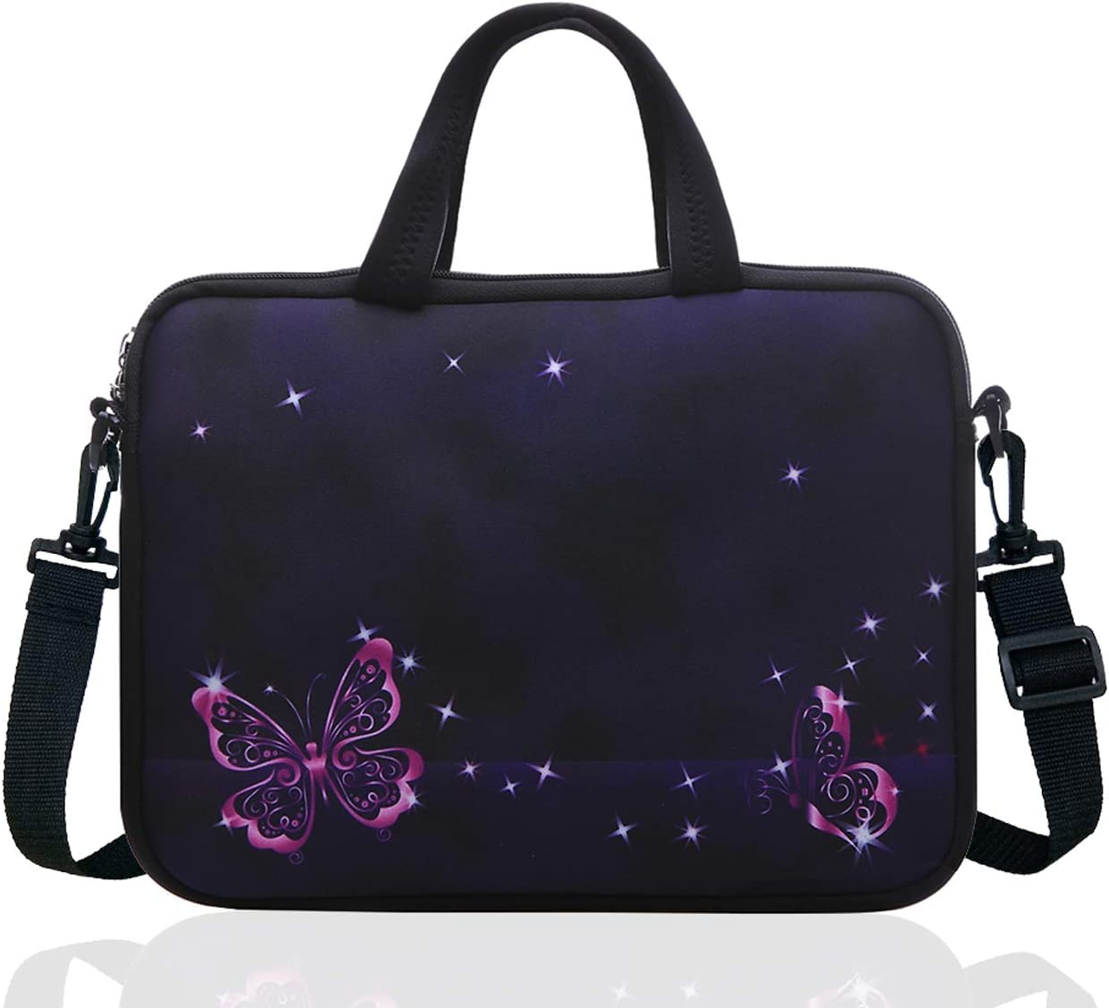 14 Inch Neoprene Laptop Sleeve Case Bag with shoulder strap For 14