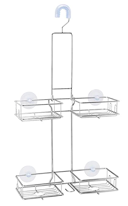 briofox shower caddy never rust 304 stainless steel durable and sturdy shining and - Bathroom Caddy