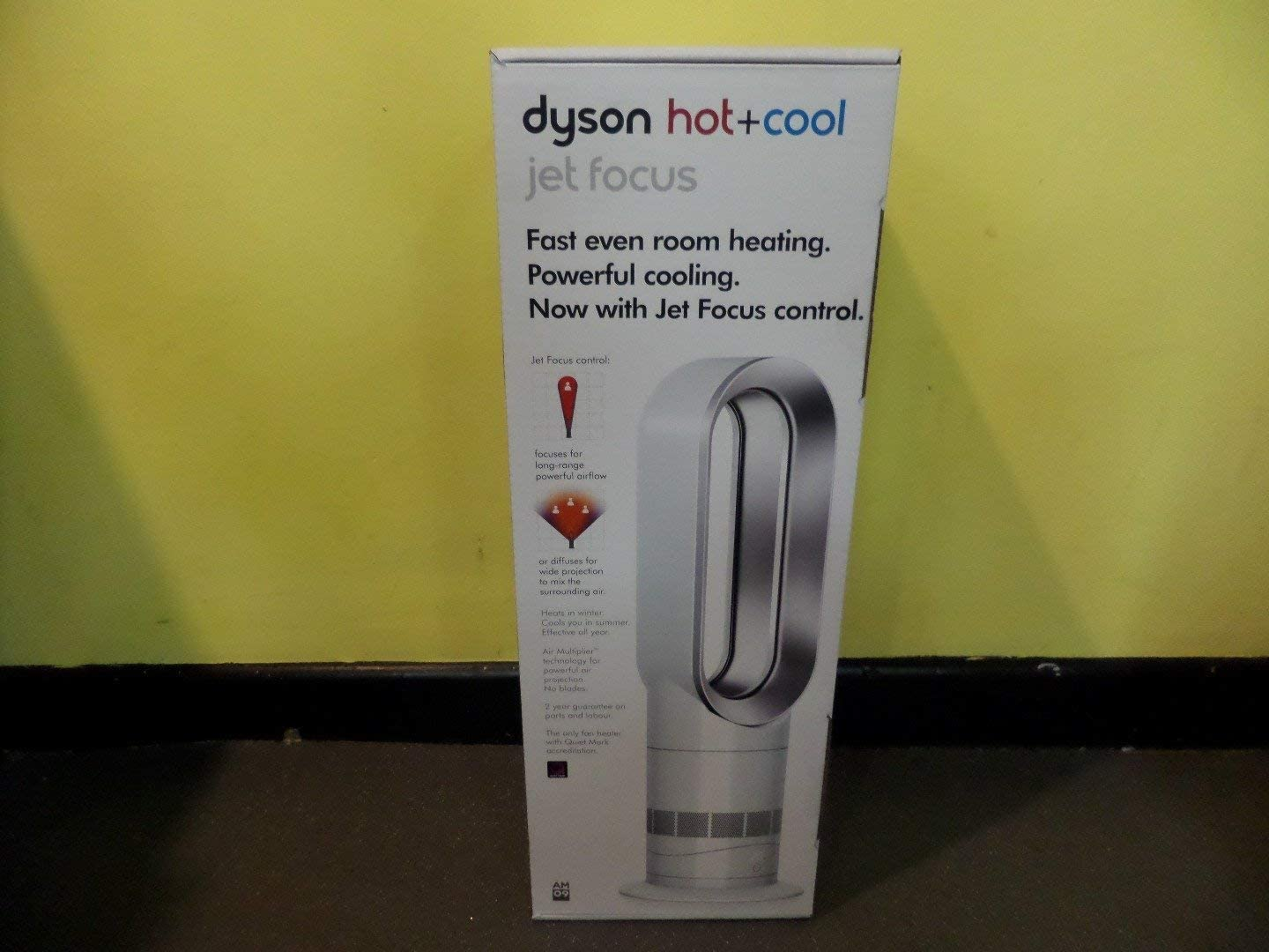 Dyson AM09 Hot + Cool Fan Heater: Amazon.es: Electrónica