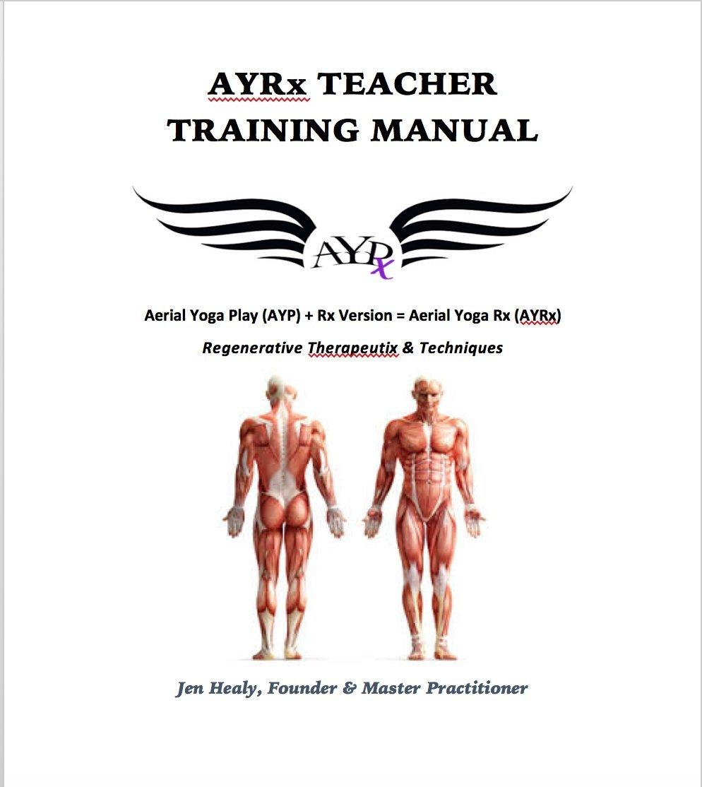 Amazon.com : AYRx Yoga Swing Training Manual & Aerial-Yoga ...