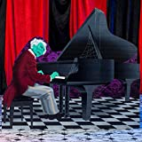 6 ft. 2 in. Haunted Hotel Grand Piano Standee
