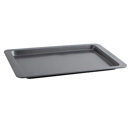 Quid Sweet Grey - Bandeja para horno, 43 x 29 x 2 cm, color