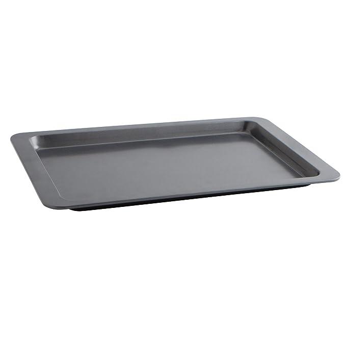 Quid Sweet Grey - Bandeja para horno, 43 x 29 x 2 cm, color gris ...