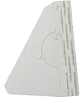 Lineco White Dbl Wing Easel Back 7In Pkg//25