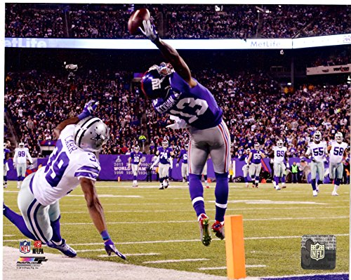 New York Giants Odell Beckham Jr. Makes The Catch of a Lifetime! 8x10 Photo. (Horizontal) ()