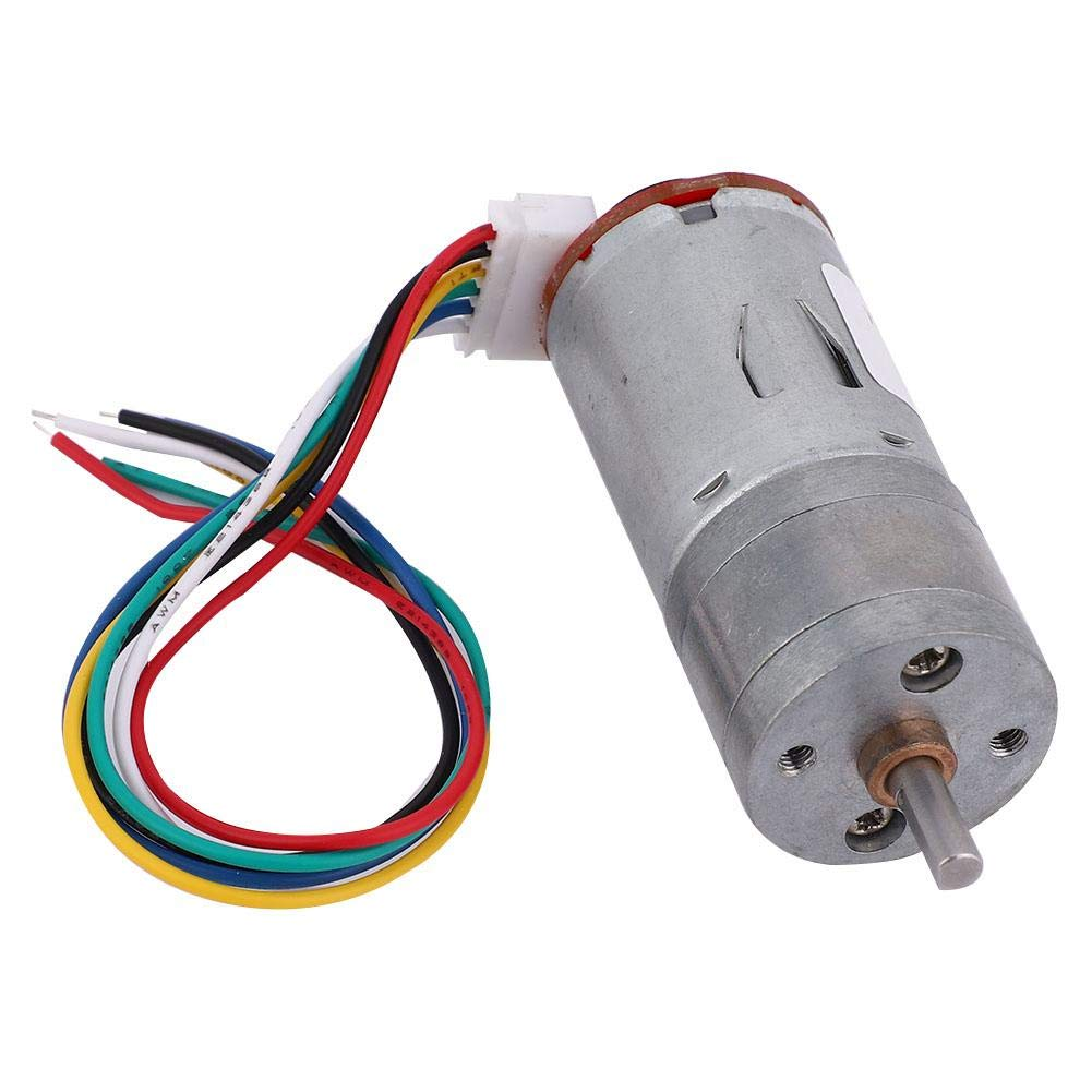 DIY Encoder Gear Motor with Mounting Bracket 65mm Wheel Kit for Smart Car Robot DC24V 40RPM Electric Motor