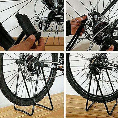 Secologo Bike Repair Stand Bicycle Bracket Repair Maintenance Floor Stand Display Rack Parking Holder Folding For Cycling Repair Stands by Secologo (Image #2)