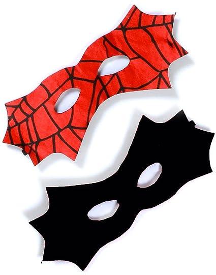 Kids Teenage Adults Spider-man Spider-Girl Cape/&Mask Superhero Costume Accessory
