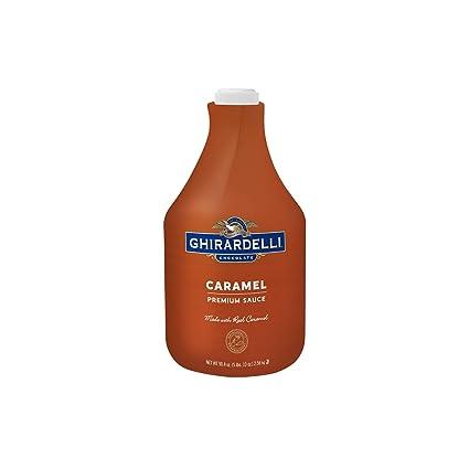 Ghirardelli Creamy Caramel Sauce 2.5 Kg: Amazon.es: Electrónica