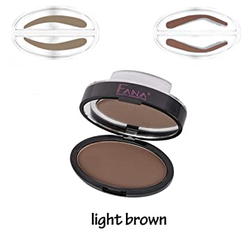 Amazon Sunsent Eyebrow Stamp For Perfect Natural Looking Eyebrows Enhancer Light Brown Beauty