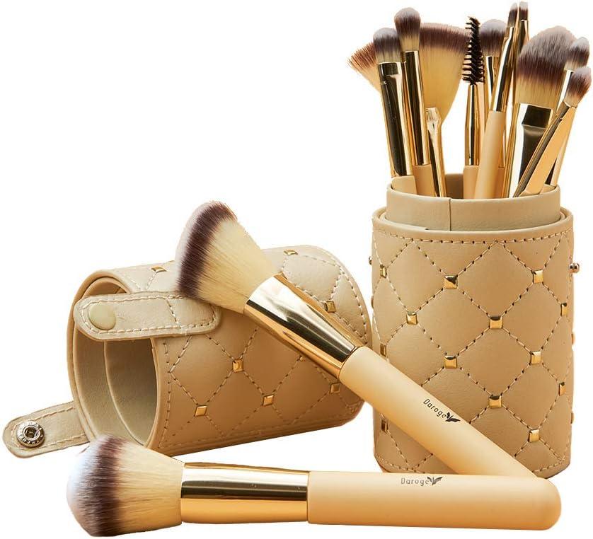 Banner kit Estojo de pincéis para maquiagem com 12 unidades - Daroge