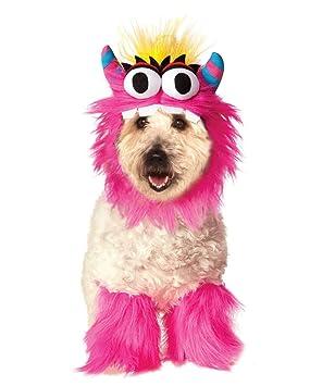 Horror-Shop Traje del perro del monstruo de color rosa S ...