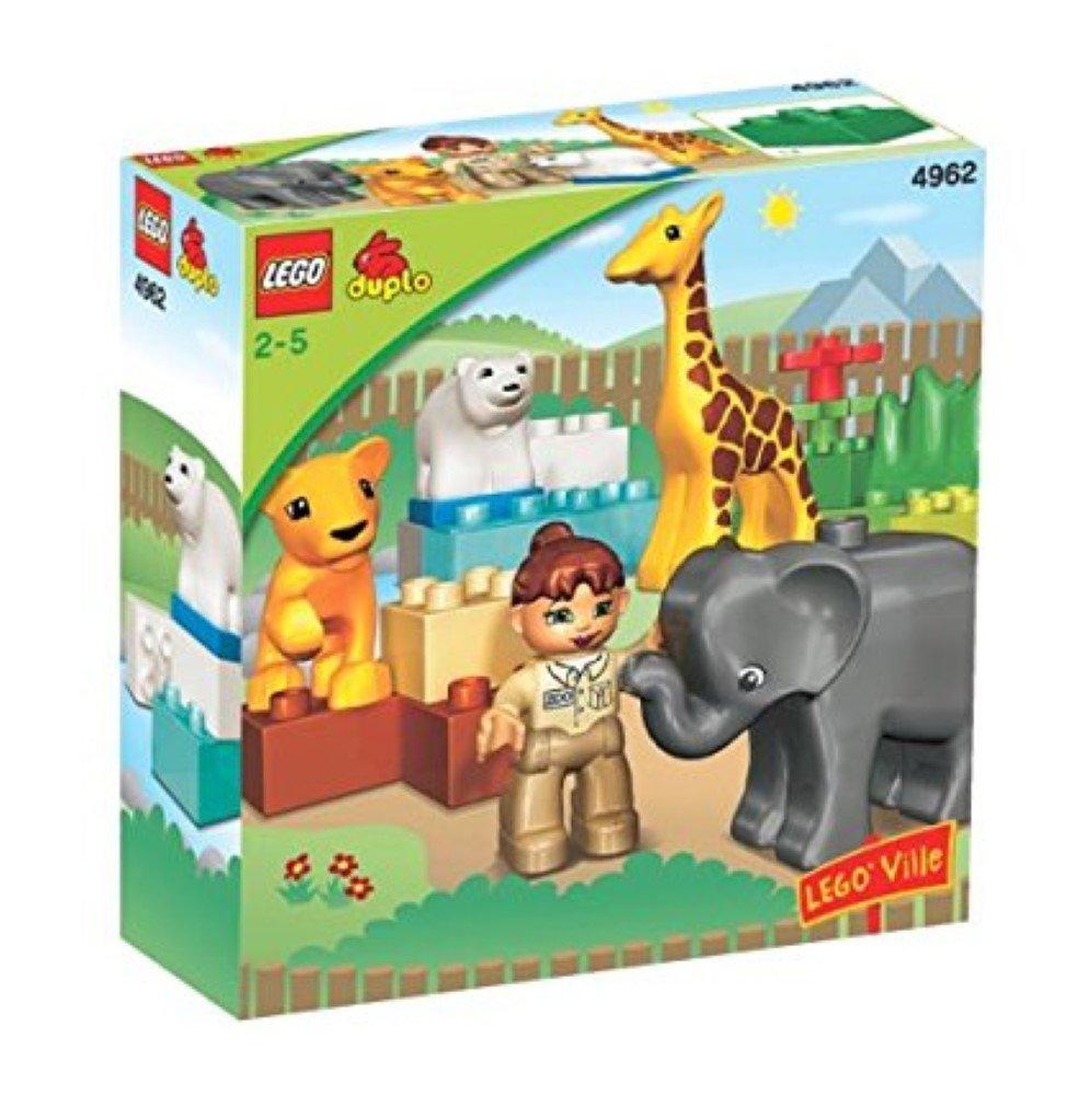 Les Animaux Polaires du Zoo LEGO DUPLO LEGOville Jeu de Construction 10501