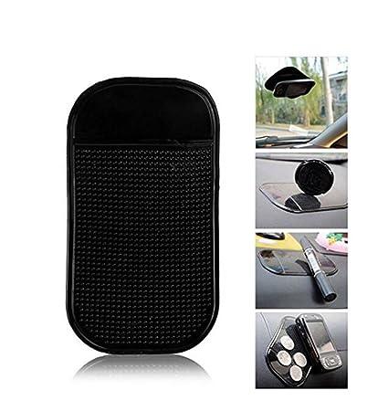 Monnaie. HICYCT Tapis de voiture autocollant antid/érapant pour Tableau de bord voiture Box 270*150mm Silicone Tapis Collant Anti-Derapant // Anti-Glisse pour Tenir Telephone
