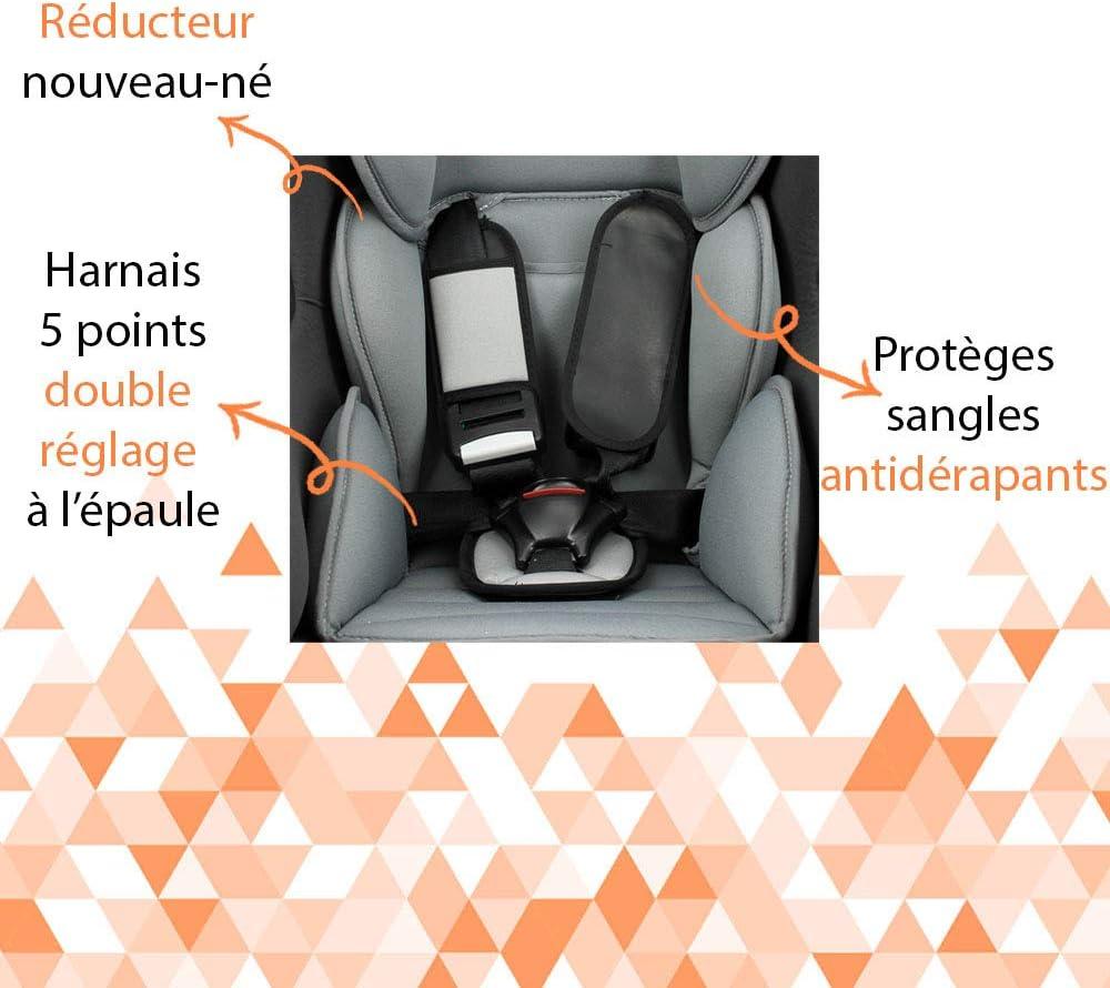 Si/ège auto groupe 0//1//2 pour les enfants de la naissance jusqu/à 25 kg