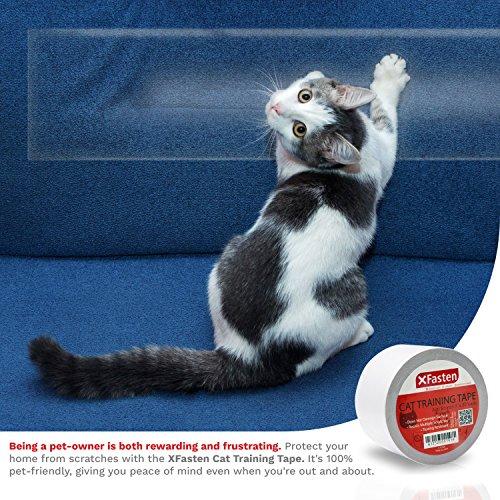Xfasten Anti Scratch Cat Training Tape 3 Inches X 30