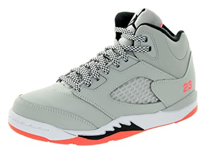 promo code 9b829 6b455 Amazon.com | Nike Jordan Kids Jordan 5 Retro GP Wolf Grey ...