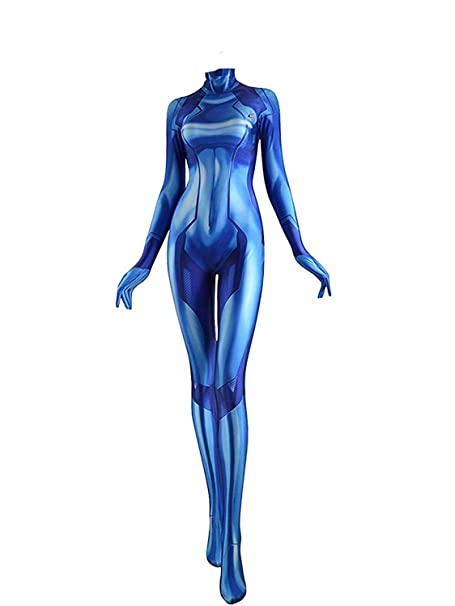 Zero Suit Samus Cosplay Costume