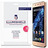 BLU Energy X LTE Screen Protector [3-Pack], iLLumiShield - Japanese Ultra Clear HD Film with Anti-Bubble and Anti-Fingerprint - High Quality Invisible Shield - Lifetime Warranty