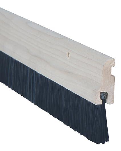 Stormguard 02sr0320914wo Door Brush Strip Draught Excluder Wood