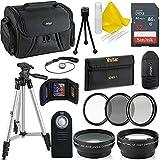 Professional 52MM Accessory Bundle Kit For Nikon D3300 D3200 D3100 D5000 D5100 D5200 D5300 D5500 D7000 D7100 D7200 & DSLR Cameras , 15 Accessories for Nikon