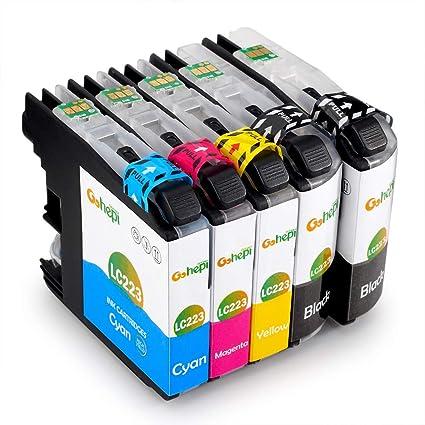 Gohepi LC223 Alta Capacidad Cartuchos de tinta Reemplazo para ...