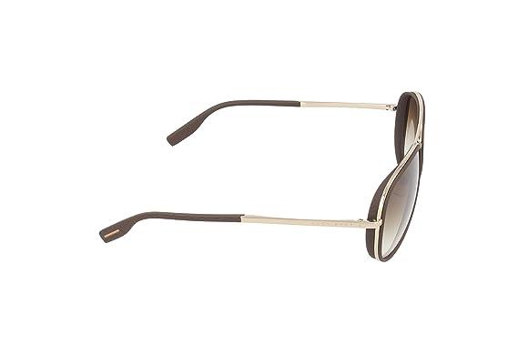 cacddb888 Hugo Boss Men's BOSS 0510/S CC ASL Sunglasses, Light Gold Matte Brown  Shaded, 59: Amazon.co.uk: Clothing