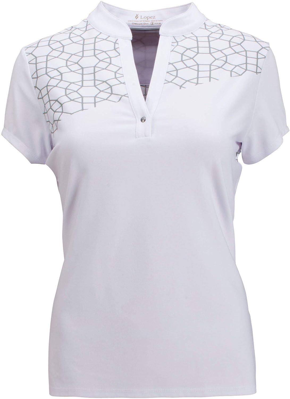 [ナンシーロペス] レディース シャツ Nancy Lopez Women's Legacy Golf Polo [並行輸入品] B07TG874J1  S