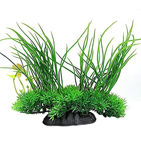 LAAT Planta de Resina de Acuario Plantas para Acuarios Plantas Artificiales Decoración de la Planta - Estilo 2: Amazon.es: Productos para mascotas