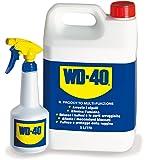WD-40 49506 - 5 litros bote Incluyendo mano pulverizador 500 Ml, vacío