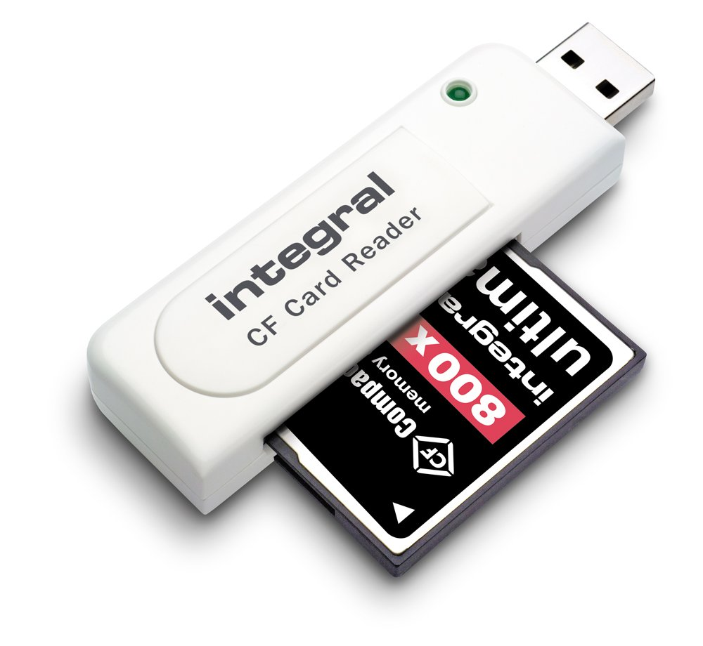 lecteur carte compact flash Integral Compact Flash USB Card Reader   kuwaitasian.com