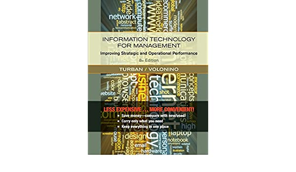 Information Technology For Management Reinventing The Organization
