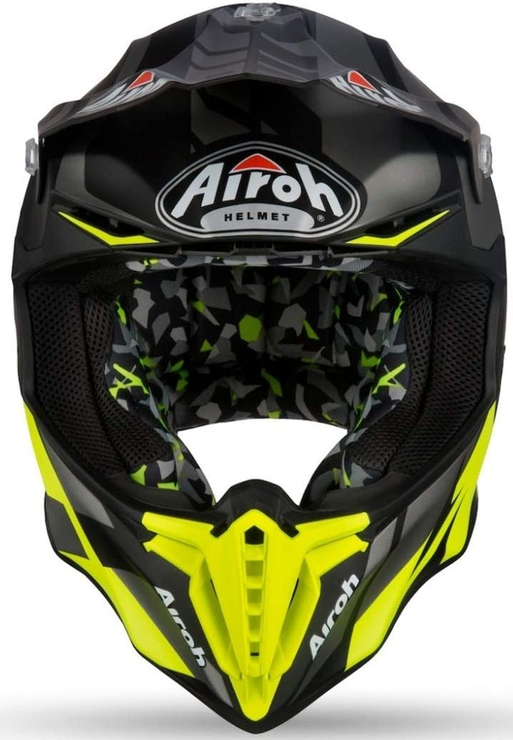 Airoh Casco para motociclista talla 60-L Command Verde color Verde