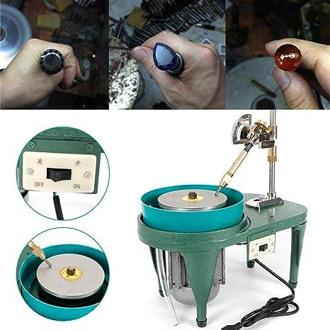Gem Faceting Machine Jewelry Jade Grinding Polishing Machine Faceted Manipulator US Warehouse