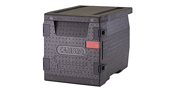 Amazon.com: Cambro epp300110 Negro Carga frontal Cam gobox ...