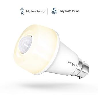 Sengled Bombilla LED Sensor Movimiento B22/E27 Bombilla Infrarrojo Inteligente Auto Encendido/Apagado Luz