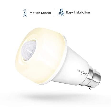 Sengled SmartSense LED A60 omnidireccional de seguridad con detector de movimiento integrado, intensidad no regulable