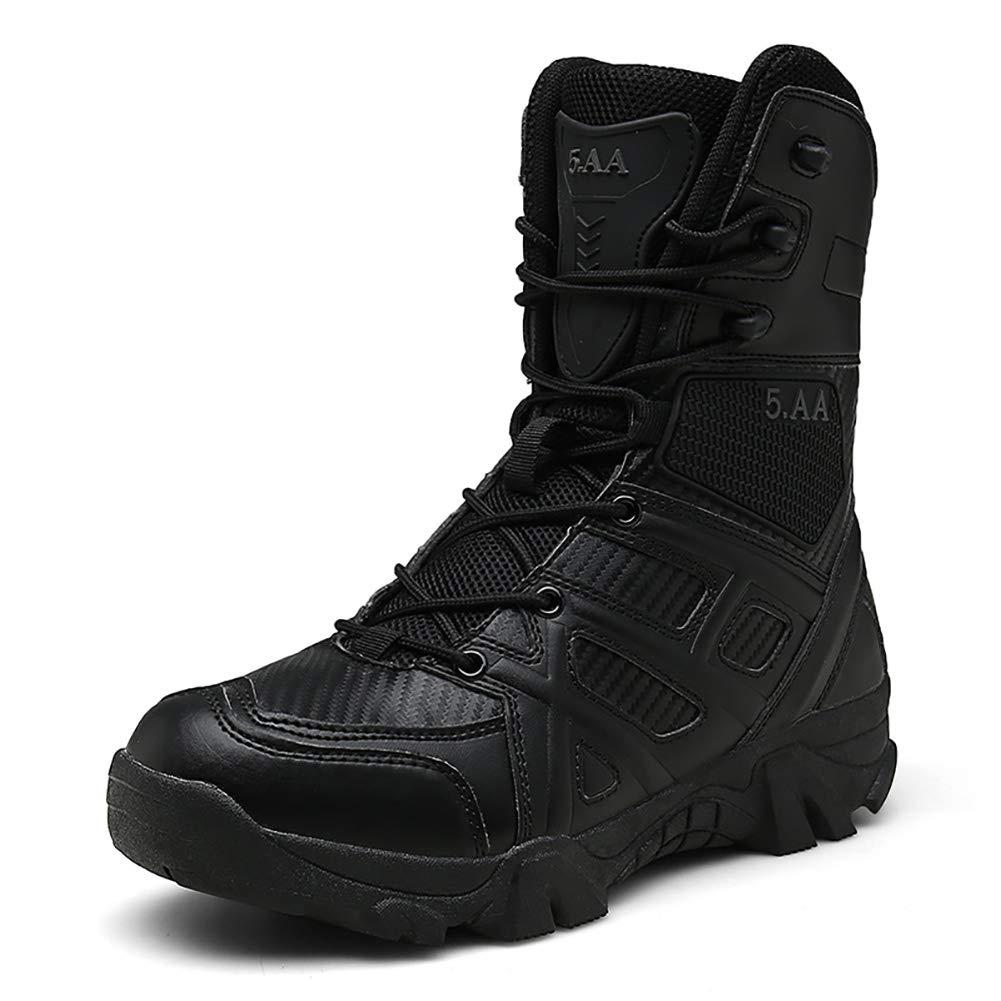 DaoLe Taktische Stiefel der Männer Zipper Military Combat schuhe
