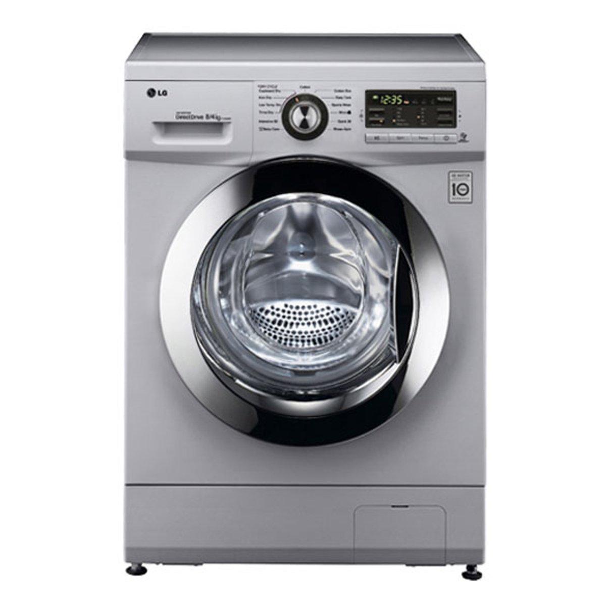 LG F1496AD5 Independiente Carga frontal A Plata lavadora ...