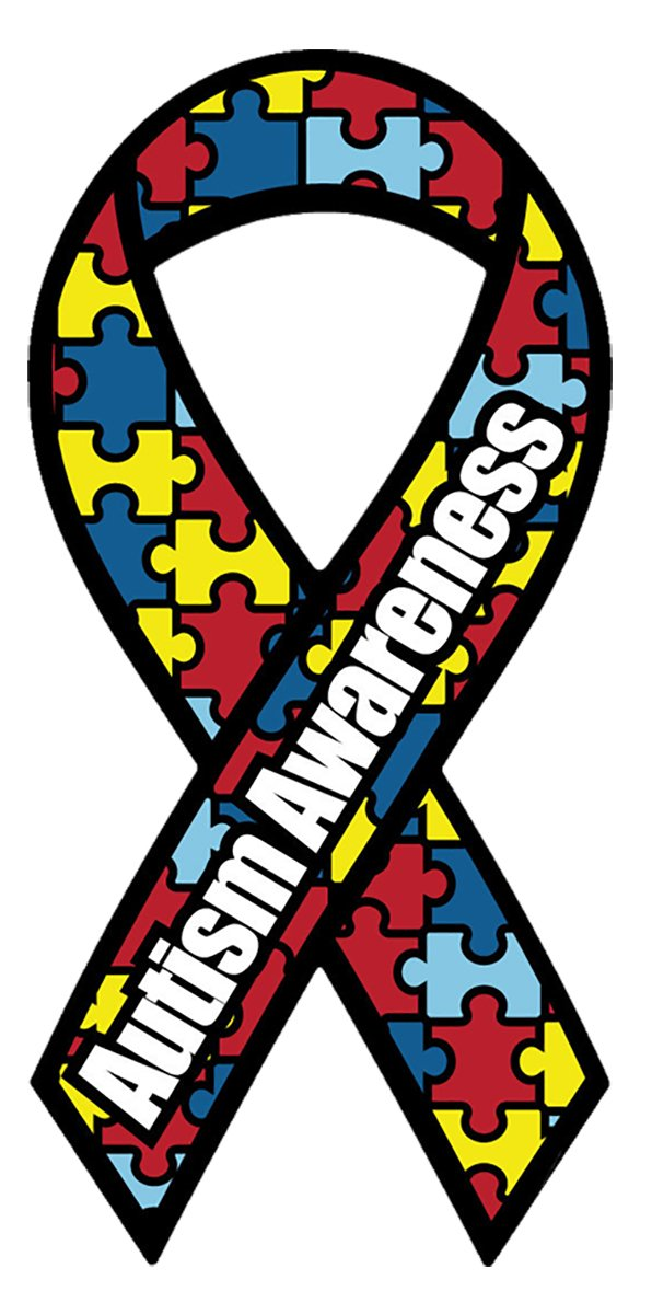 amazon com made in usa autism awareness magnet 4 x 8 inches by rh amazon com