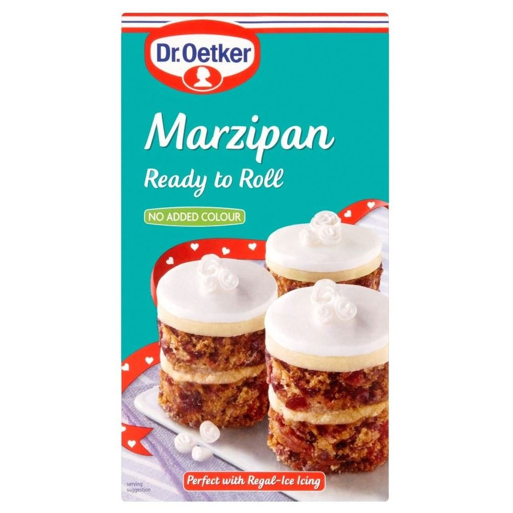 Dr. Oetker Ready to Roll Natural Marzipan (454g) - Pack of 2