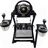 GT Omega Steering Wheel Stand PRO for Thrustmaster T150 Force Feedback Racing Wheel PS4 & Pedals, Supporting TX, Xbox…