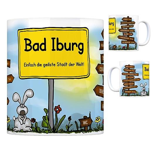 Terren Blumen | Bad Iburg Einfach Die Geilste Stadt Der Welt Kaffeebecher Tasse