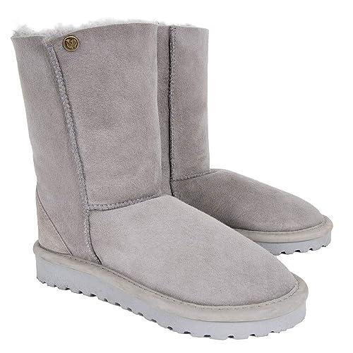 1a1f2a0742f Celtic & Co Womens Regular Height British Sheepskin Celt Boots ...
