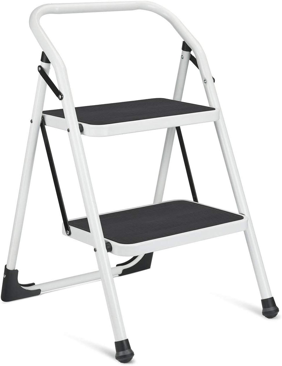 Plastic Folding Step Stool Foldable Portable Multi Purpose Heavy Duty Ladders