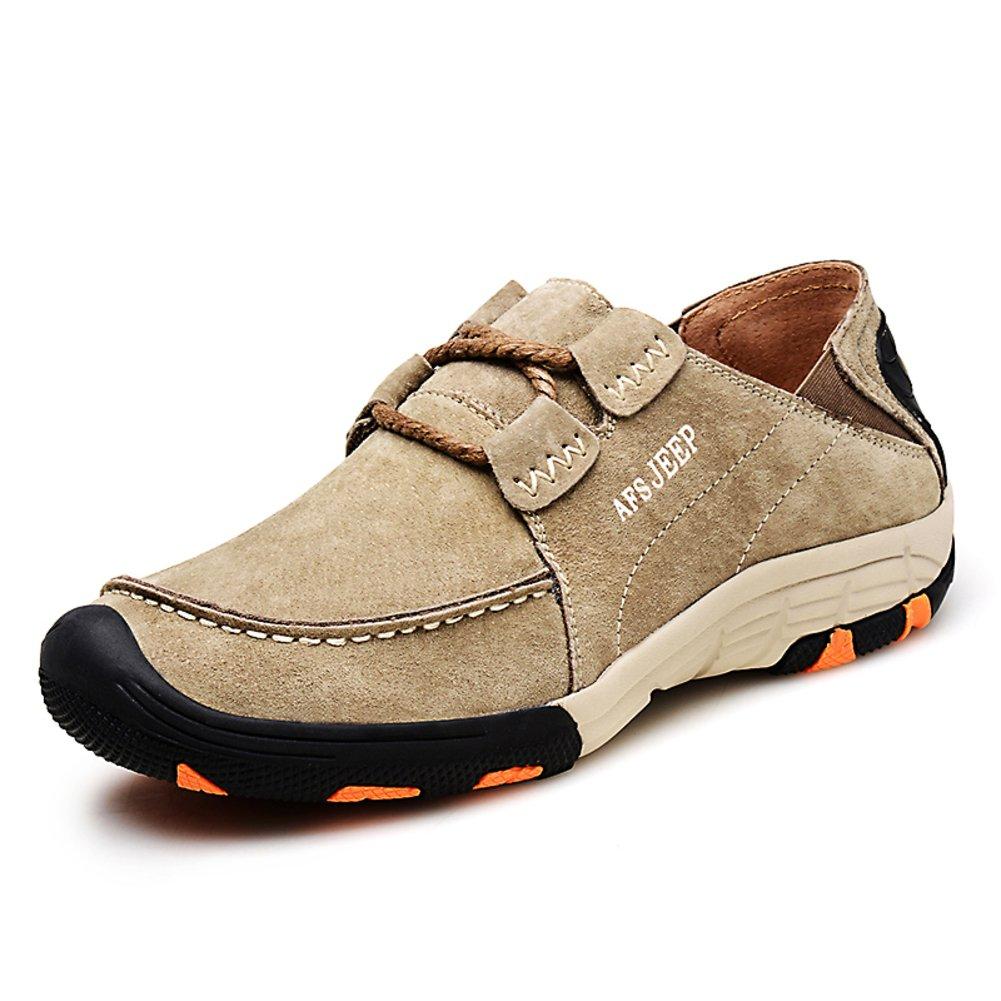 Herren Freizeitschuhe Dress Bergsteigen Herbst Outdoor Zu Fuß Sport Schuhe Rutschen Schwarzbraun