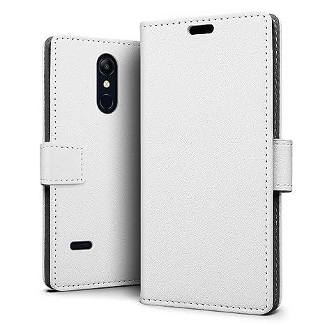 SLEO Funda para LG K11 2018/LG K30 2018 Carcasa Libro de Cuero Ultra Billetera Cartera [Ranuras de Tarjeta,Soporte Plegable,Cierre Magnético] Case ...