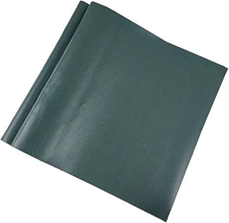 Large Leather Repair Patch Adhesive Back First-aid for Upholstery Couch Car Seat Jackets Handbags 12x24 Inches Black Pack of 2