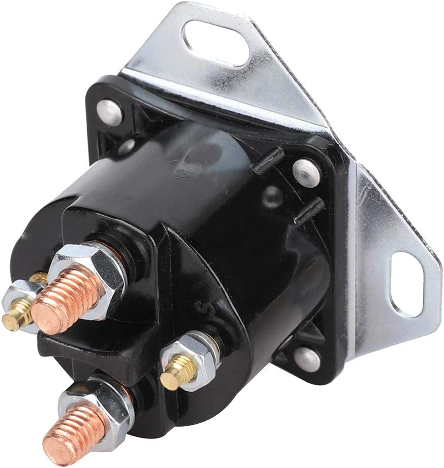 Glow Plug Glowplug Relay Solenoid Module Switch Fits 1994-2002 Ford F-250 F-350 1995-2000 Ford E-350 2000 Ford Excursion Replace# DY861 F81Z-12B533-AC F81Z12B533AC